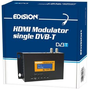 Schotelzaak\Edision HDMI Modulator single dvb-t