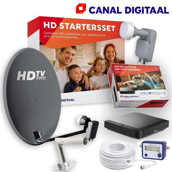 Canal Digitaal starterset met L Beugel