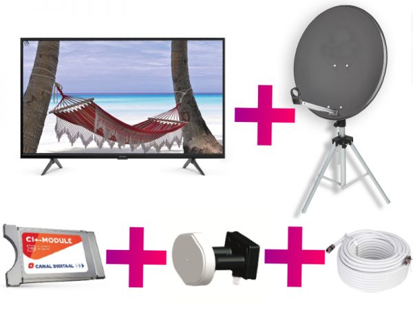 Canal digitaal camping set