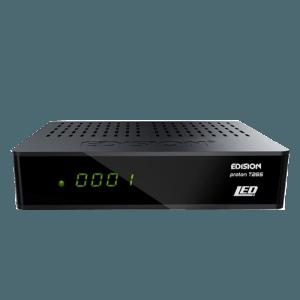 Edision Proton T265 LED DVB-T2/C Ziggo-Kpn digitale ontvanger
