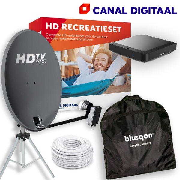 Complete recreatieset Canaldigitaal Waardering 5.00 uit 5