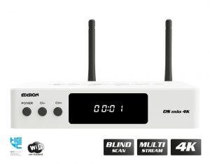 Edision OS MIO 4K COmbo White