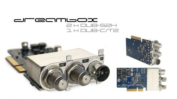 Dreambox Triplle tuner 2x