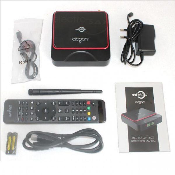 Red360 Elegant Full box