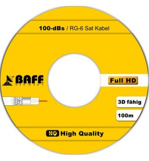 Baff coax 100 m