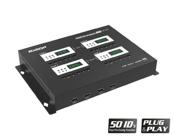Edision HDMI modulator quad5